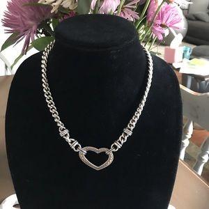 Brighton Thick Chain Heart Necklace